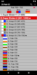 25 Pair Color Code Apk 3