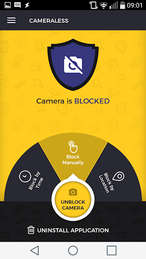 Cameraless - camera block 3.0.5 screenshots 1