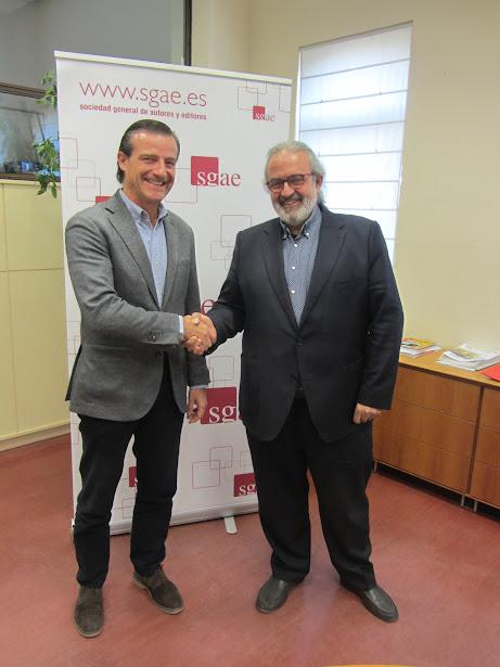 La SGAE y la Federación de Sociedades Musicales de la Comunidad Valenciana firman un convenio de colaboración