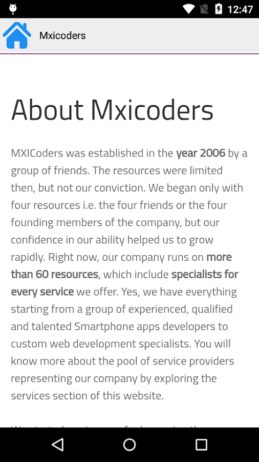 Mxicoders- screenshot
