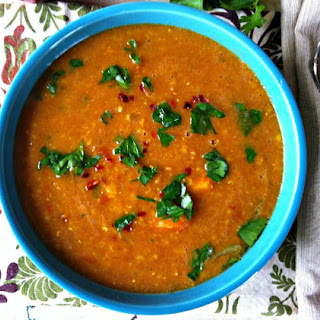 Moroccan Red Lentil Soup.
