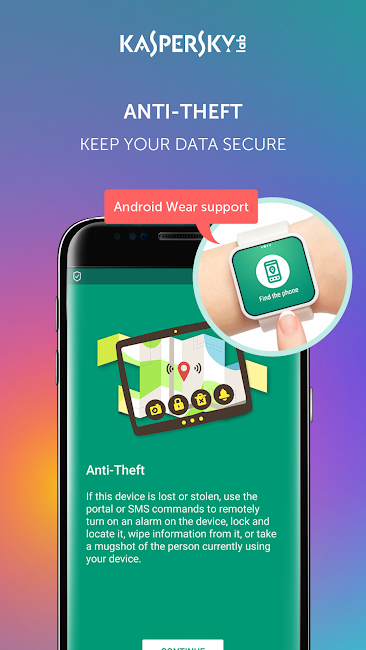 #3. Kaspersky Antivirus & Security (Android)