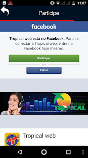 Web Rádio Tropical- screenshot thumbnail