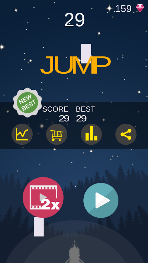 Jump 2D- screenshot