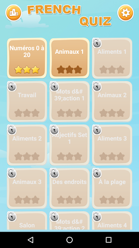 French Game: Word Game, Vocabulary Game filehippodl screenshot 1