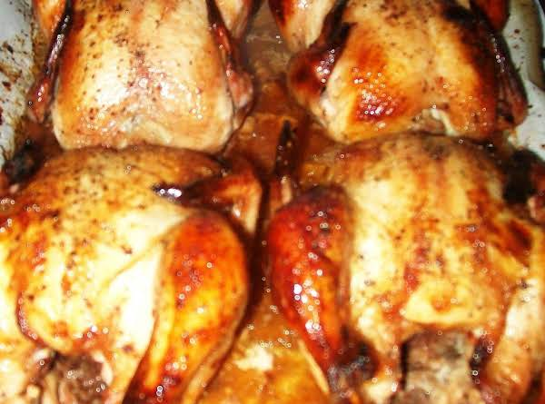 Cornish Game Hen's Pure And Simple Recipe