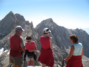 Photo: Au sommet de la Torre de las Horcados Rojos (2506m)