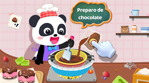 Fábrica de petiscos do pequeno panda screenshot 9
