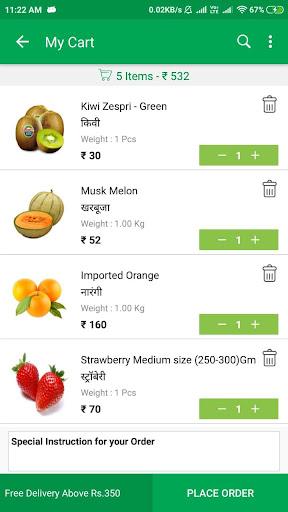 Sabjiwali - Online Sabji Shopping App screenshot 5