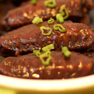 Swiss Sauce Chicken Wings (Dark Soy Sauce Chicken Wings)