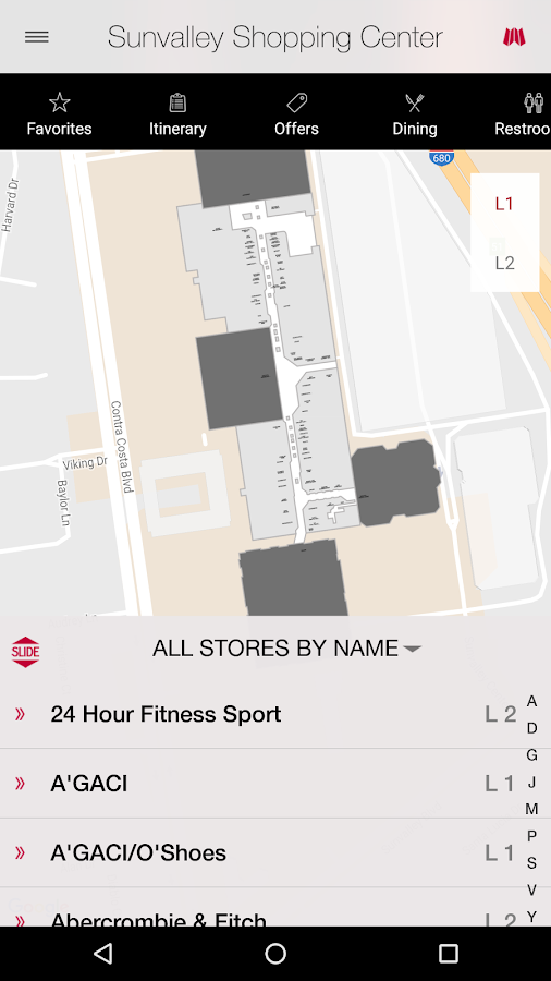 Sunvalley Shopping Center- screenshot