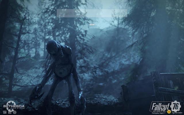 Fallout 76 Tab Backgrounds Wendigo