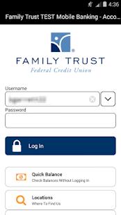 Family Trust Mobile Banking- screenshot thumbnail