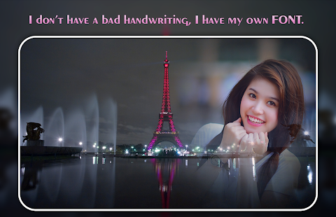 Pink Paris Photo Editor - náhled