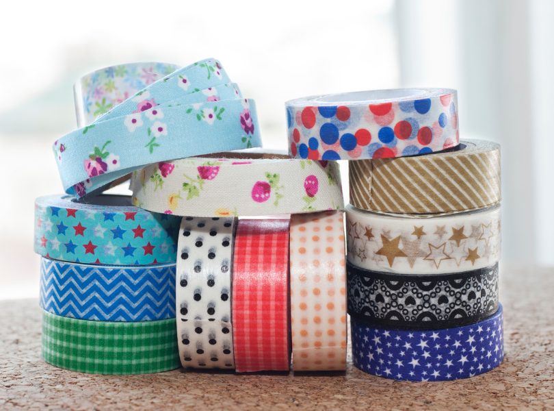 different types of washi tape