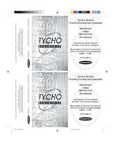 Photo: Master Artwork: PCCOM19, Tycho Brahe - Promotional Cassette, released January 1996. Design by Dennis Remmer.