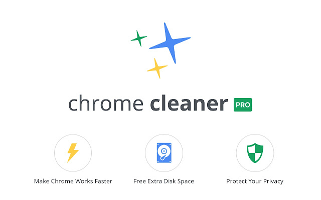 chrome cleaner pro - chrome web store