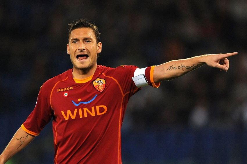 AS Roma great Totti meets girl who woke from coma after his message - SowetanLIVE