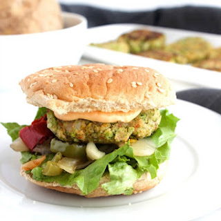 Broccoli Potato Burgers.