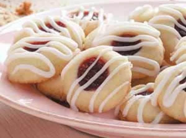 Raspberry Almond Shortbread Cookies Recipe