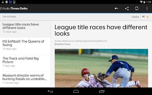 Visalia Times Delta- screenshot thumbnail