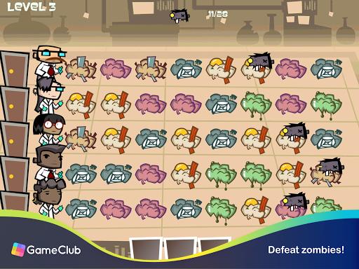 Zombie Match Defense: Fun, Brainy Match-3 Puzzles 1.2.78 screenshots 12