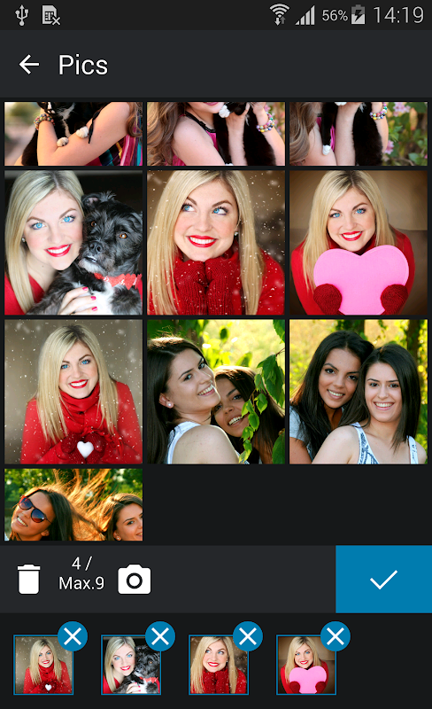 Collage Photo Editor Ultra screenshots