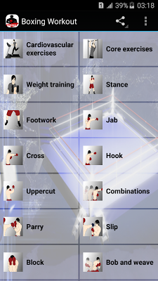 Boxing Workout - screenshot