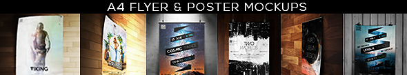 Framed Poster Mock-Up Bundle