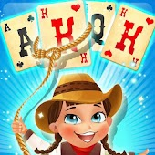 Solitaire match cowboy