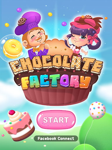 Chocolate Factory Puzzle - screenshot