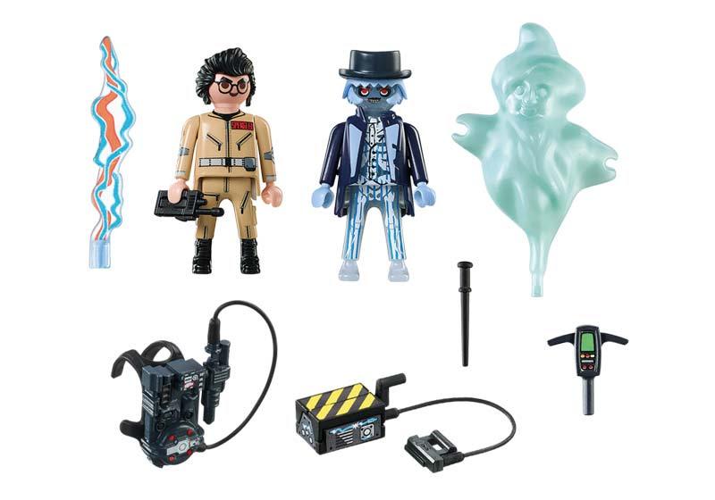Contenido Real de Playmobil® 9224 Spengler y Fantasma