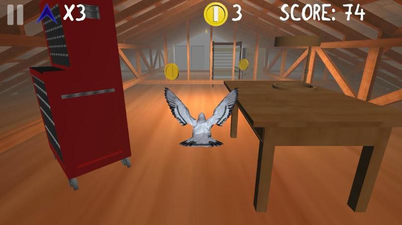 Скриншот Roofy Bird