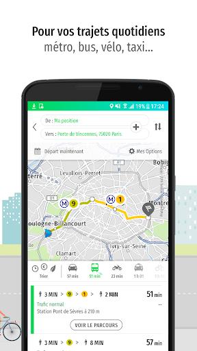 Mappy u2013 Plan, Comparateur du2019itinu00e9raires, GPS Apk 2
