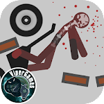 Stickman Dismounting Icon