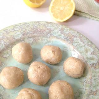 Lemon Macaroon Protein Balls Recipe