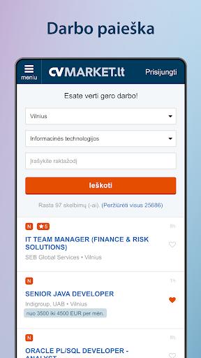 CVMarket.lt  screenshots 1
