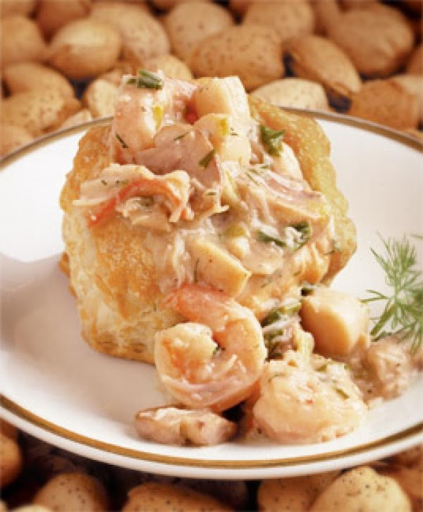 Seafood Stroganoff Recipe
