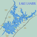 Lake Lanier Water Level icon