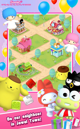Hello Kitty Jewel Town Match 3