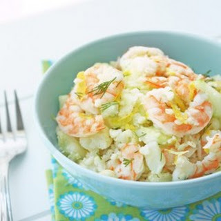 Shrimp & Cauliflower Salad – Low Carb and Gluten Free.