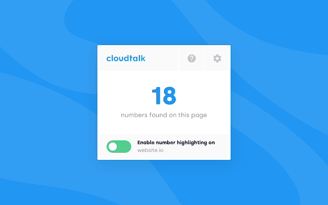 CloudTalk Click-to-Call