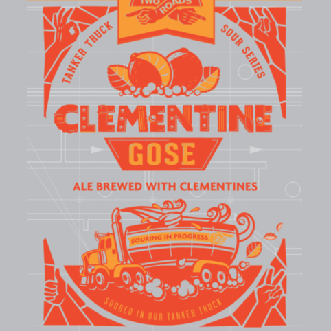 Logo of Two Roads Tanker Truck Sour Series: Clementine Gose