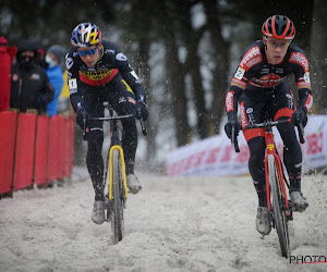 """Wout van Aert blij met mooie overwinning in Mol: """"Het was meer dan een training"""""""