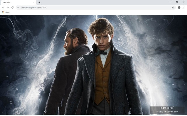 Harry Potter And Fantastic Beasts New Tab