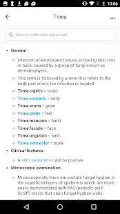 Dermatology Glossary- screenshot thumbnail