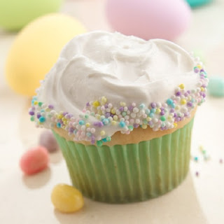 Candy-Sprinkled Cupcakes Recipe