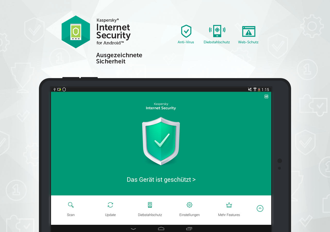 Kaspersky Antivirus & Security – Screenshot
