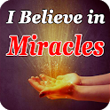 Believe in miracles icon
