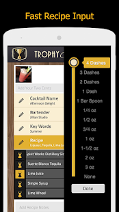 TrophyCocktail- screenshot thumbnail